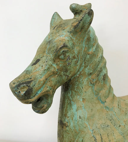 Vintage Chinese Bronze Flying Horse | eXibit collection