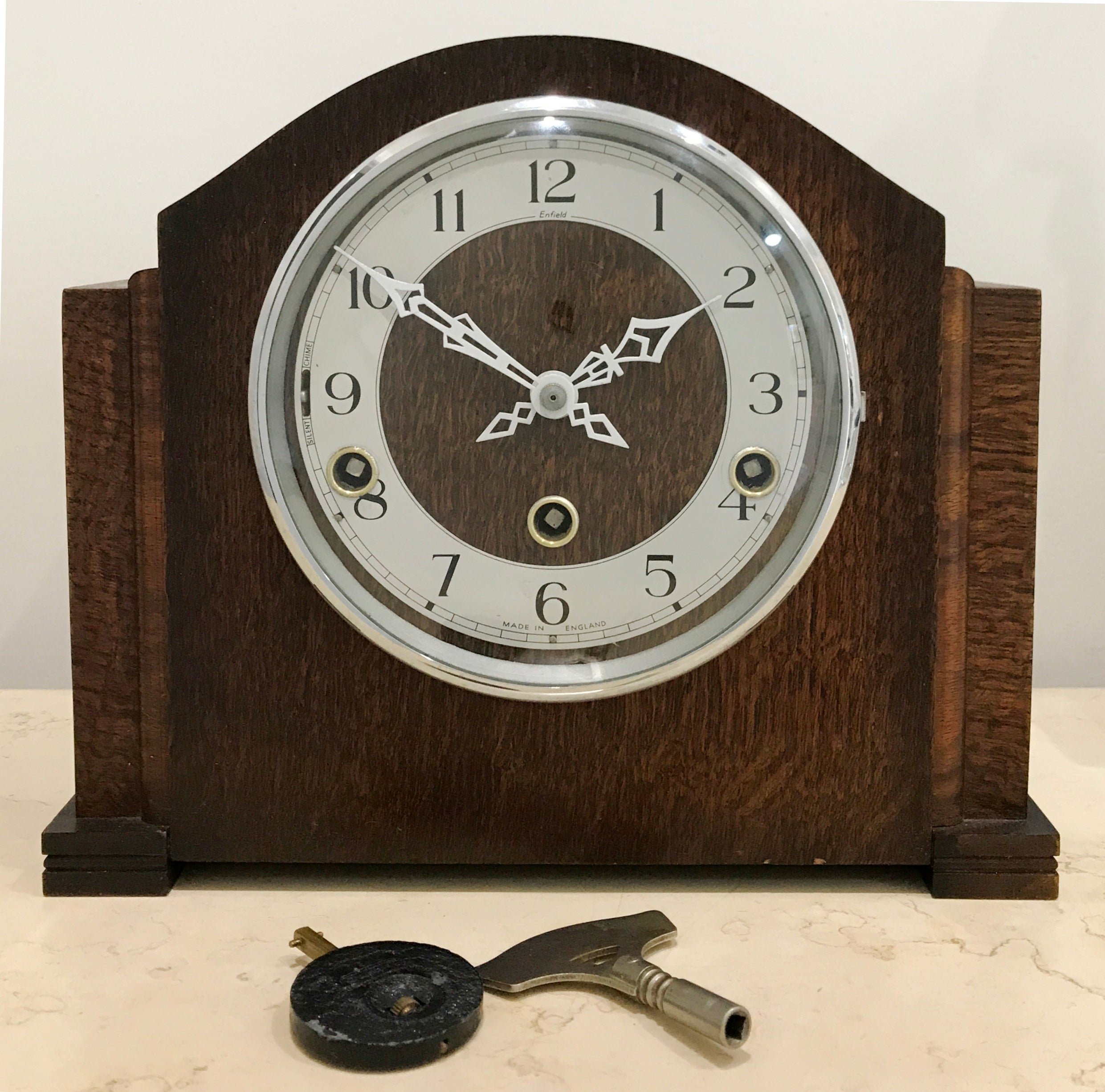 enfield clocks made in england