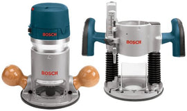 Bosch Combination Horsepower Plunge and Fixed Base Variable Speed Router Kit