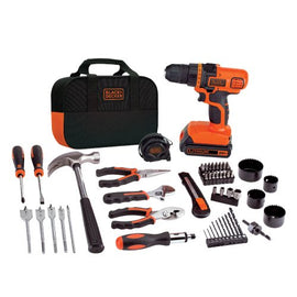 BLACK and DECKER Cordless Drill and Battery Power Kit