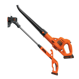 BLACK and DECKER  Lithium String Trimmer/Edger Plus Sweeper Combo Kit, 10""