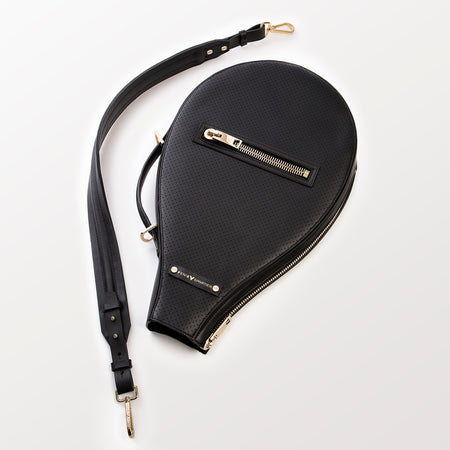 Billie Bag (Black Leather / Gold Hardware)