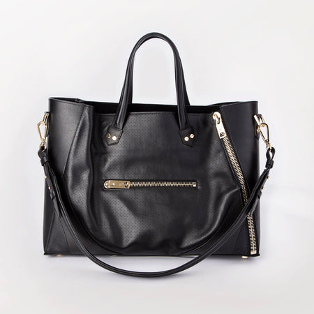Major Bag (Black Leather / Gold Hardware)