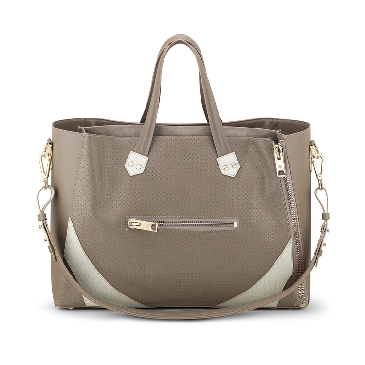 Major Bag (Greige Leather / Gold Hardware)