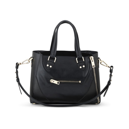 One Bag (Black Leather w/Gold Hardware)
