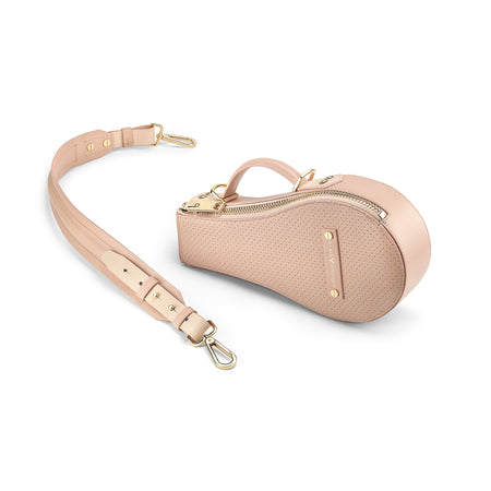 B Bag (Blush Leather / Gold Hardware)