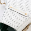 Billie Bag (White Leather / Gold Hardware)