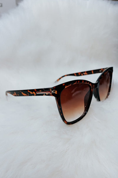 Cat Eye Plastic Sunglasses