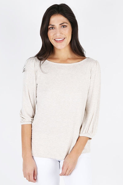 Kacy Boat Neck Knit Top
