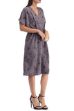 Akner Surplice Woven Dress