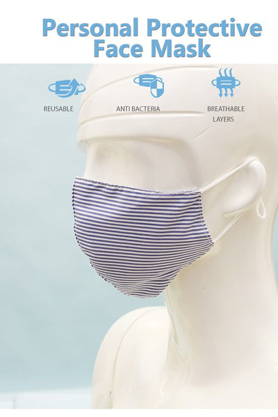 Stripe Fashion Face Mask