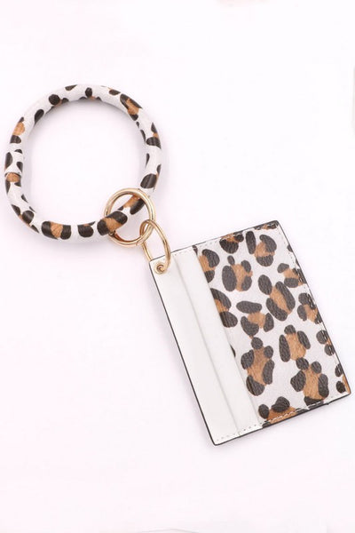 Card Holder Bracelet Ring Key Chain
