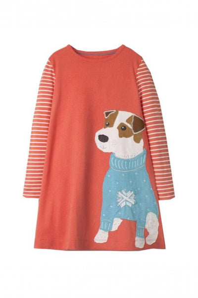 Kid's Cute Dog Dress