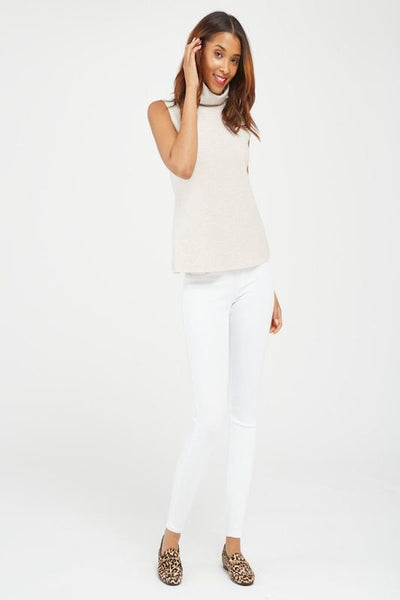 Spanx Jeanish Ankle Legging in White