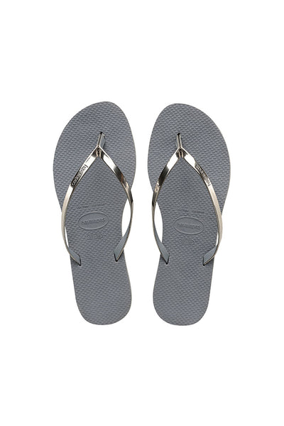 You Metallic Sandal