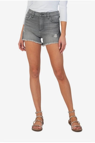 Jane High Rise Loose Leg Short Brimming