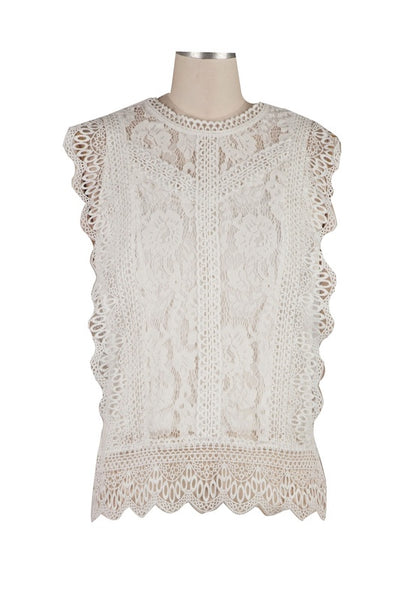 Stella Lace Tank Top