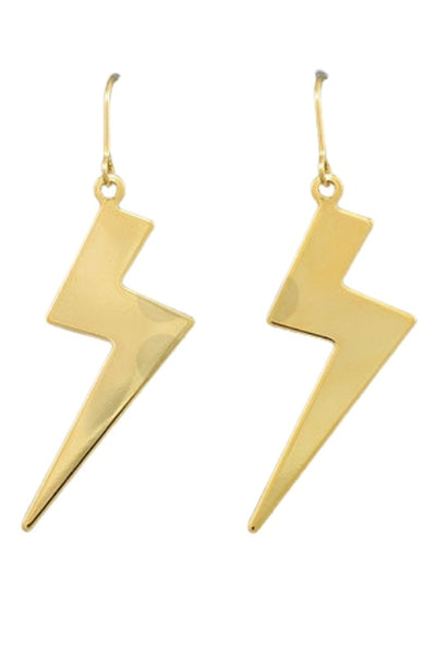 Thunder Bolt Lightning Earrings
