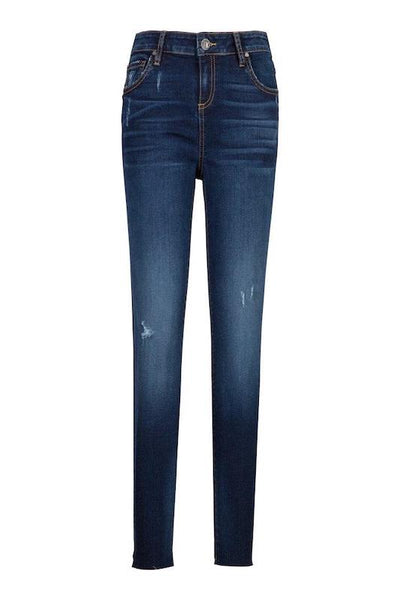 Connie High Rise Ankle Skinny Pose