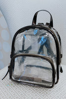 Cute Transparent Trendy Backpack