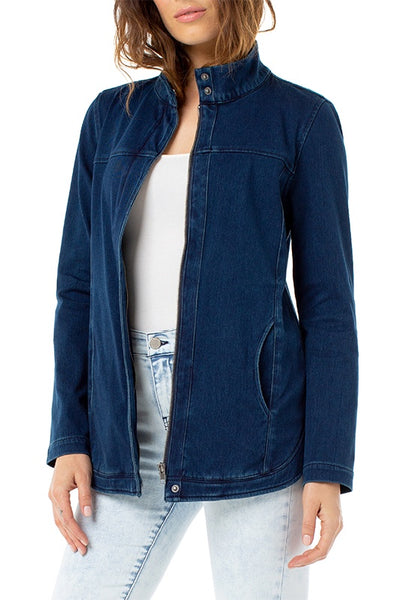 Studio Long Denim Jacket