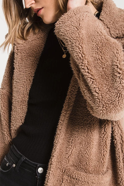 The Sherpa Teddy Coat