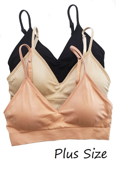 Basic Seamless Bralette For Larger Chest