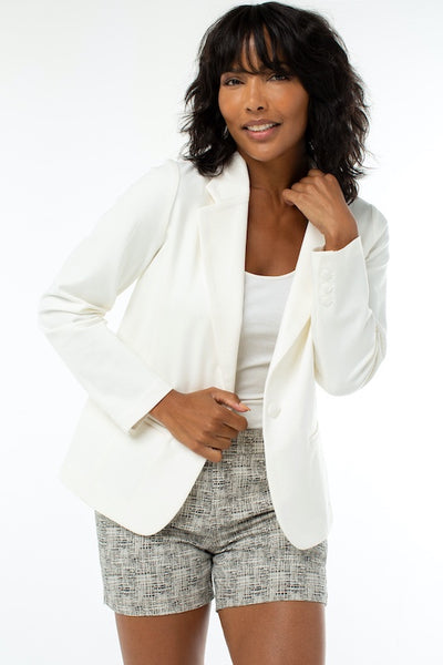 Fitted Blazer Super Stretch Ponte
