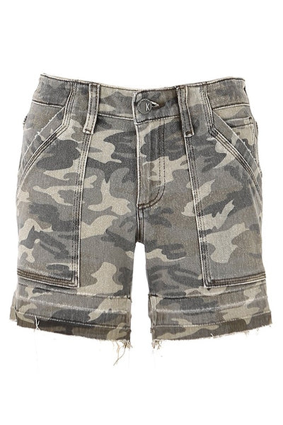 Alice Camo Short with Pockets