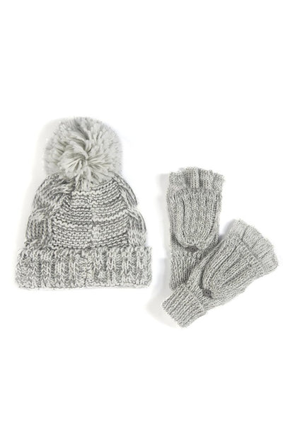 Yara Hat and Glove Set