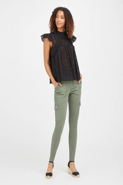 Spanx Stretch Twill Ankle Cargo Pant