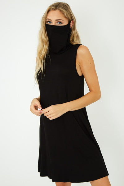 Tank Dress with Face Mask
