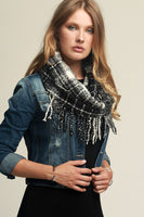 Casual Plaid Infinity Scarf