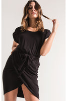 Monica Jersey Wrap Dress