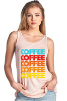 Coffee Graphic Tank F154-4148