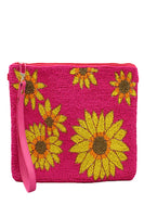 Sunflower Bead Clutch