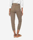 Frida High Rise Slim Track Pant  with Side Twill