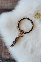 Bangle Keychain w/ Tassel