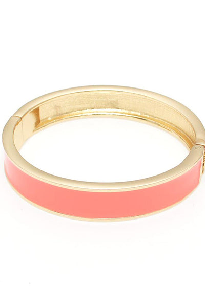 Enamel Hinge Bangle