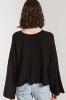 The Premium Fleece Flare Sleeve Pullover