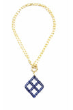 Lattice Pendant Neckalce