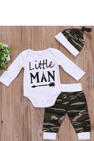 Kid's Little Man Camo Set