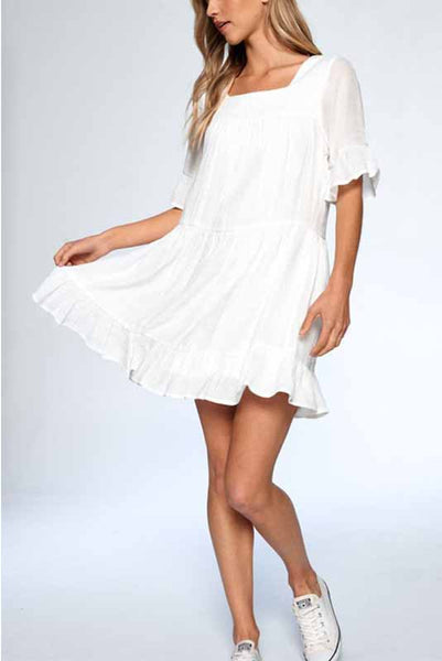 Emily Ruffle Dress