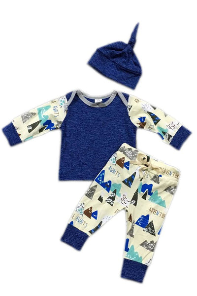 Kid's Forest Adventure Boy's 3 Piece Set