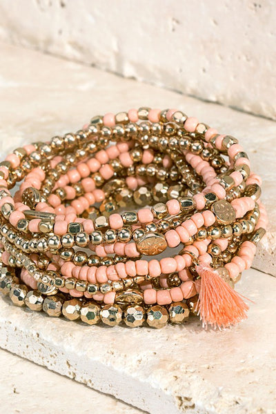 Multi Layered Bracelet Set