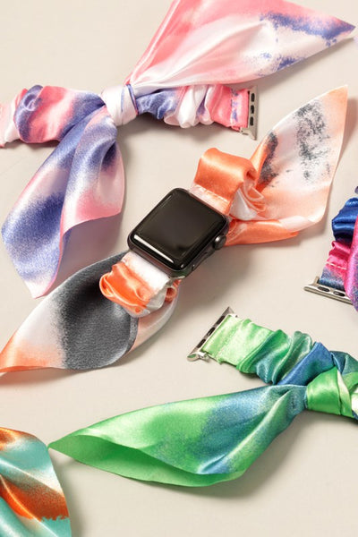 Scrunchie Style Apple Band Watch
