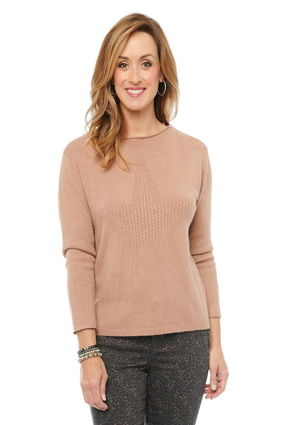Star Cable Stitch Sweater