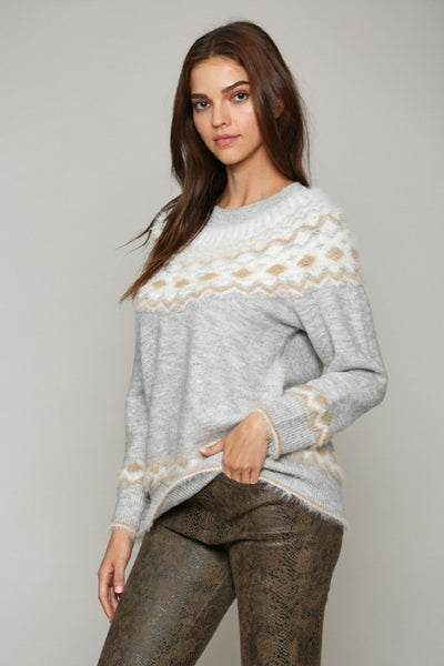 Colorado Print Sweater