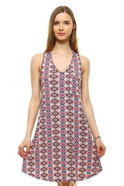Aztec Swing Dress