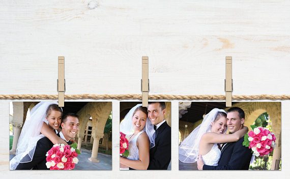 Photo Board Sign Clips